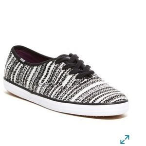 Keds Champion Metallic Woven Stripe Sneaker